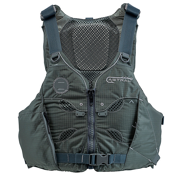 Astral V-Eight Fisher Life Jacket, Pebble Gray, 600