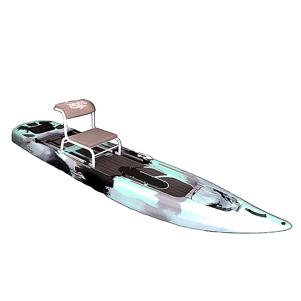 Kaku Kayak Zulu without Rudder and Pedal System 2021 Seafoam, Seafoam, 600