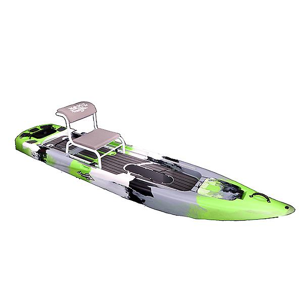 Kaku Kayak Zulu without Rudder and Pedal System 2021, Key Lime, 600