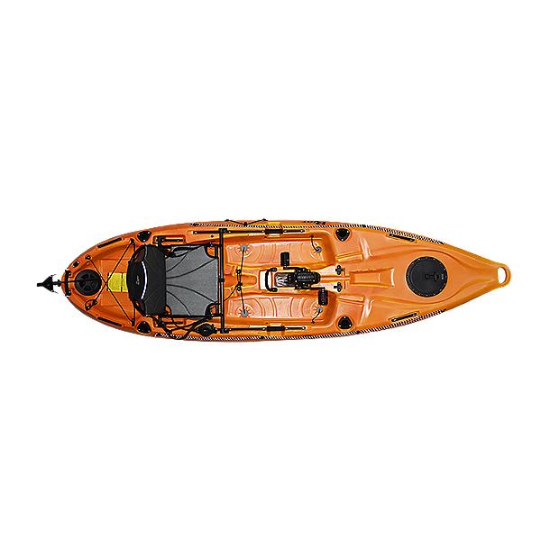 Riot Mako 10 Pedal Drive Kayak 2020 Sunset, Sunset, 600