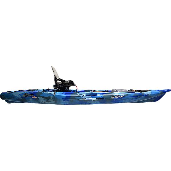 Feelfree Lure 13.5 V2 Fishing Kayak 2021 Ocean Camo, Ocean Camo, 600