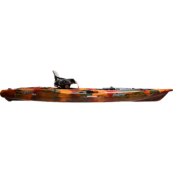Feelfree Lure 13.5 V2 Fishing Kayak 2021, Fire Camo, 600