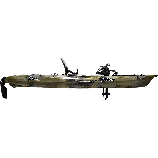 Feelfree Lure 11.5 v2 Kayak with Overdrive Pedal Drive, Desert Camo, 600