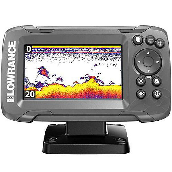 Lowrance Hook2 4X GPS with Transducer 2021, , 600