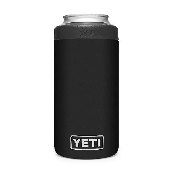 Yeti Rambler 16 oz Colster Tall Can Insulator, Black, 600
