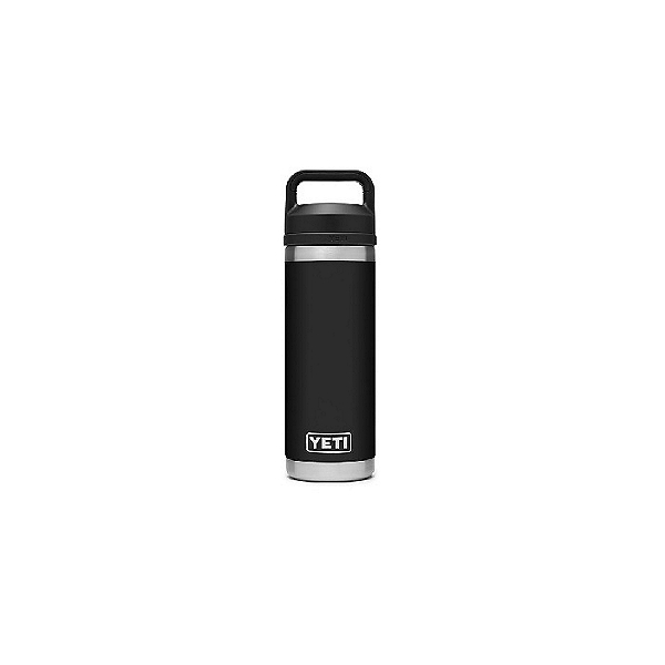 Yeti Rambler 18 oz Chug Cap Bottle, Black, 600