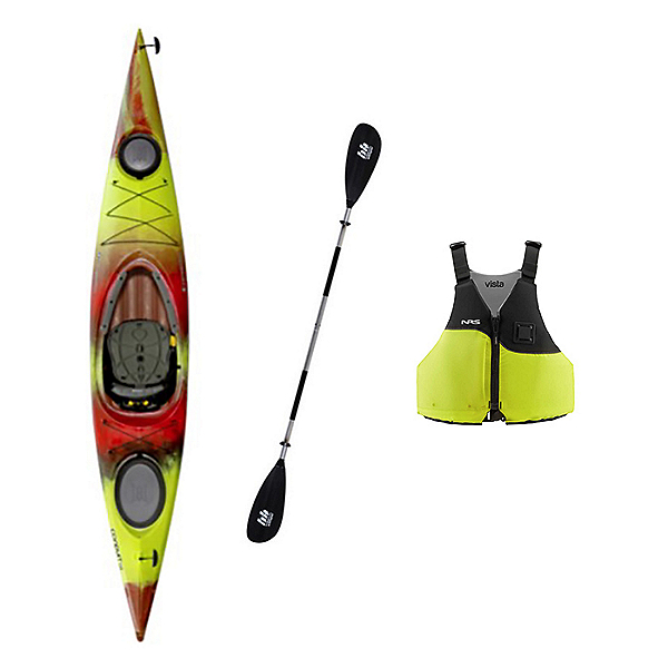 Perception Conduit 13.0 Touring Kayak Package, , 600