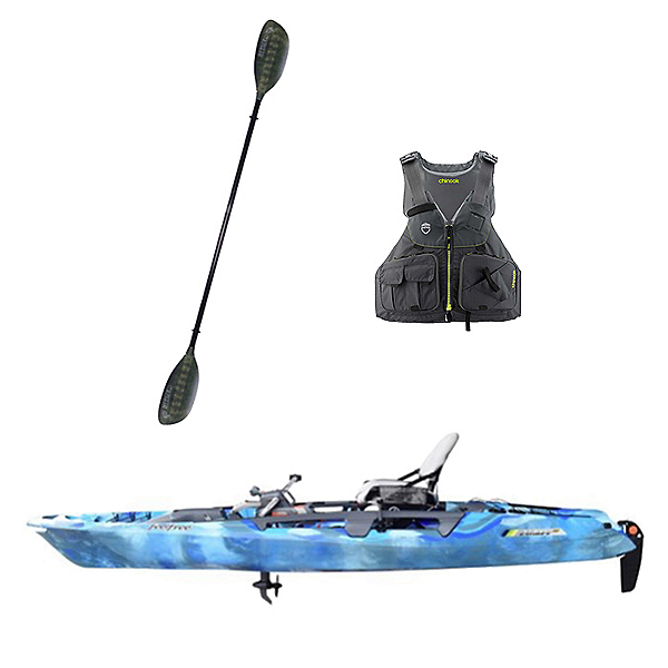 Feelfree Dorado 125 Kayak with Overdrive and 8Ball Steering Package, , 600
