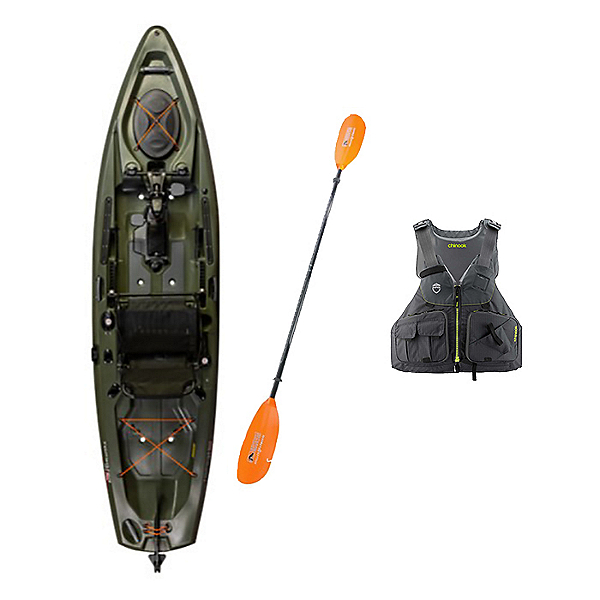 Old Town Topwater 120 PDL Kayak Package, , 600