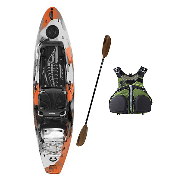 2020 Kaku Kayak Wahoo 10.5 Fishing Kayak Package, , 600