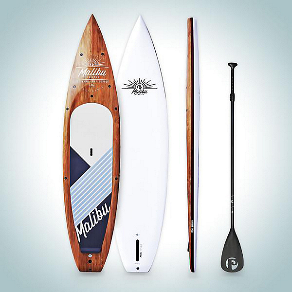 2020 Pau Hana 11' 6 Malibu Tour Paddle Board - Wood, , 600
