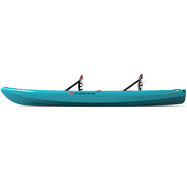 2020 Crescent Crew Tandem Kayak Aqua, Aqua, 600