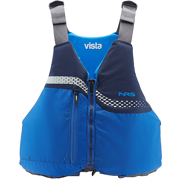 NRS Vista Life Jacket 2021- PFD, Blue, 600