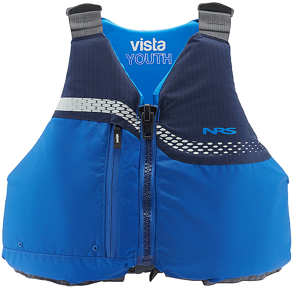 NRS Vista Youth Life Jacket 2021 - PFD, Blue, 600