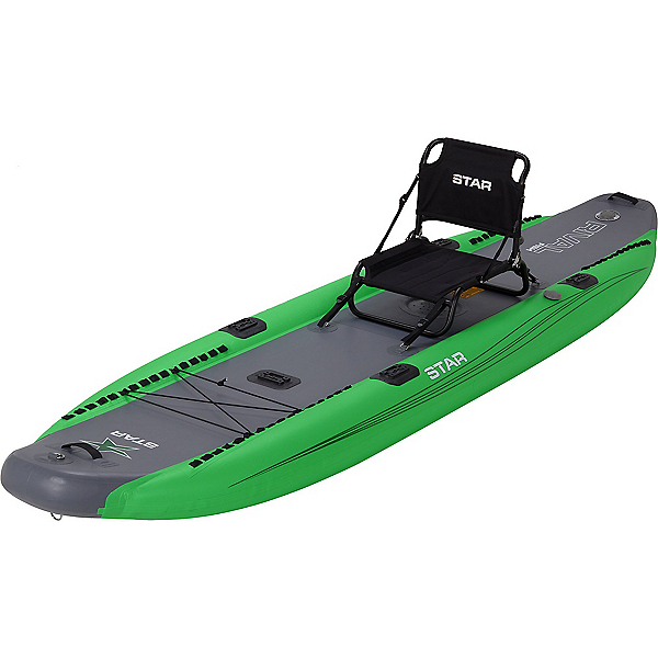STAR Rival Inflatable Fishing Kayak 2021, Lime, 600