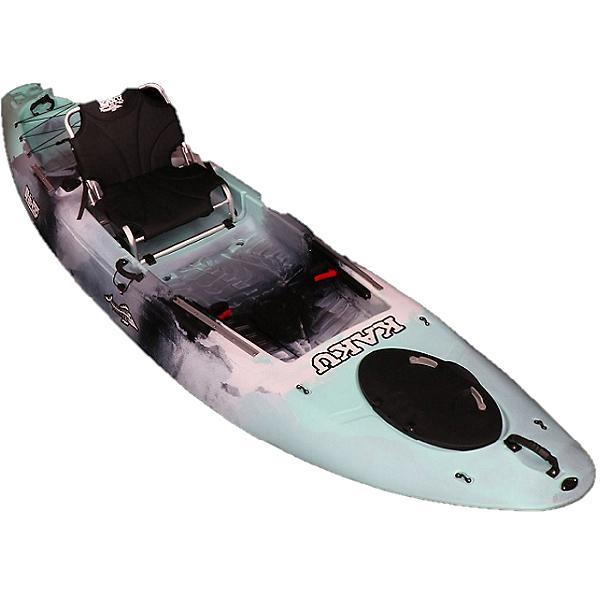 Kaku Kayak 2020 Wahoo 12.5 Fishing Kayak Seafoam Camo, Seafoam Camo, 600