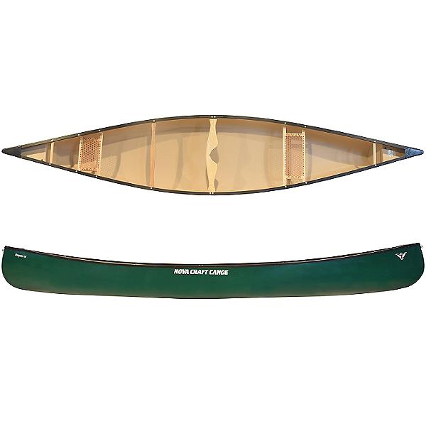 Nova Craft Canoe Prospector 16 NK- TuffStuff w/ Aluminum Trim, Green, 600