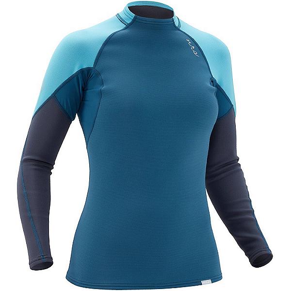 NRS Women's HydroSkin 0.5 Long-Sleeve Shirt 2021, Poseidon, 600