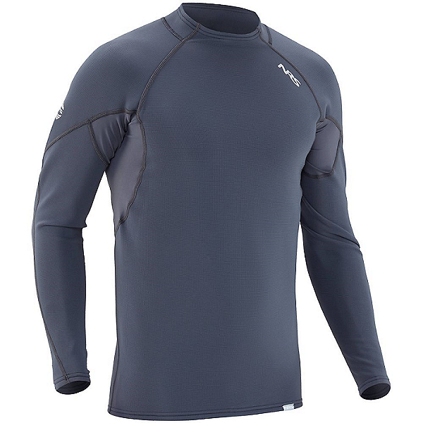 NRS Men's HydroSkin 0.5 Long-Sleeve Shirt 2021, Dark Shadow, 600