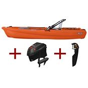 Jonny Boats Bass 100 w/ Jonny Pod Fixed Motor Package 2021, , medium