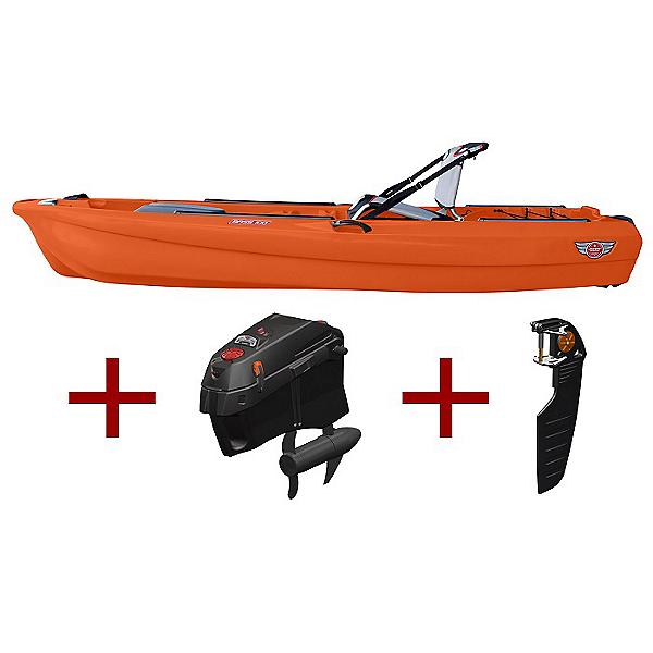 Jonny Boats Bass 100 w/ Jonny Pod Fixed Motor Package 2021, , 600