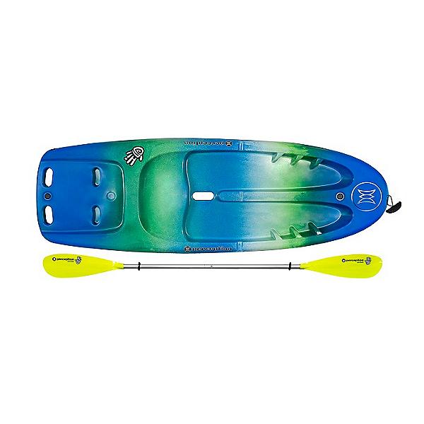 Perception Hi Five Kids' Kayak w/ Paddle, Deja Vu, 600