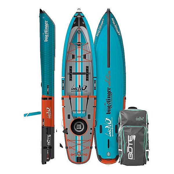 BOTE LONO Aero 12'6 Inflatable Kayak 2021, Bug Slinger Tarpon, 600