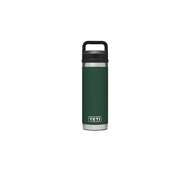 YETI Rambler 18oz Bottle with Chug Cap- Limited Edition, Northwoods Green, 600