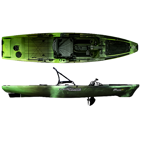 Native Watercraft Slayer Propel Max 12.5 Fishing Kayak 2021, Gator Green, 600