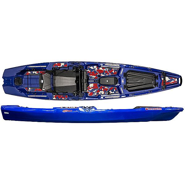 Bonafide SS127 Fishing Kayak Limited Edition, Patriot, 600
