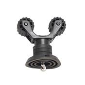 YakAttack SUP Leash Plug Adapter with RotoGrip Paddle Holder 2021, , medium