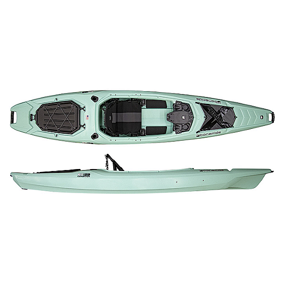 Bonafide EX123 Sit Inside Fishing Kayak 2021, Endless Aqua, 600