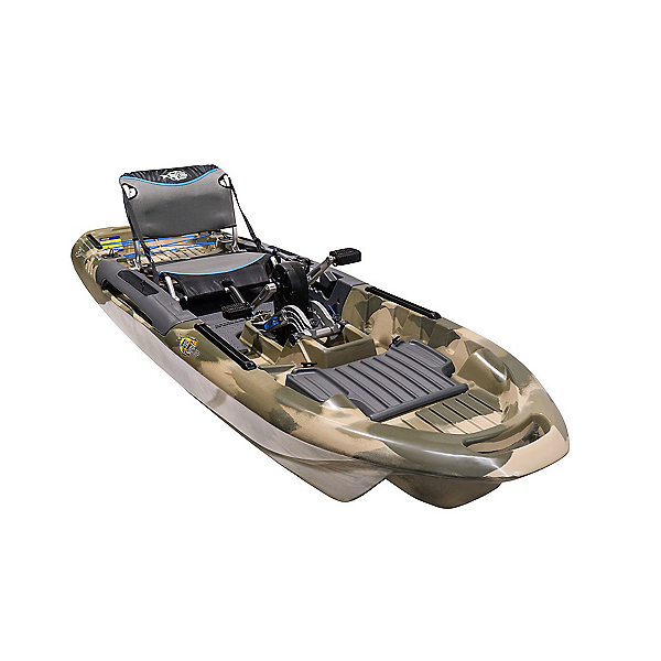 3 Waters Kayaks Big Fish 103 Pro Fish Pedal Drive Fishing Kayak 2021, , 600