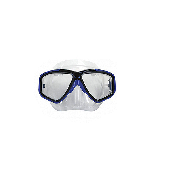 Deep See Adventurer II Dive Mask Blue, Blue, 600