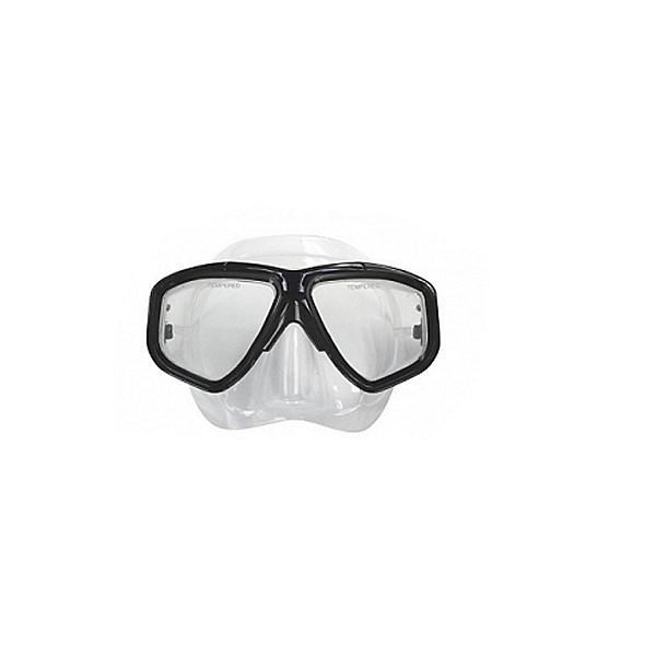 Deep See Adventurer II Dive Mask, Black, 600