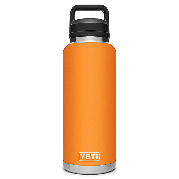 YETI Rambler 46 oz. Bottle w/ Chug Cap- Limited Edition, King Crab Orange, 600