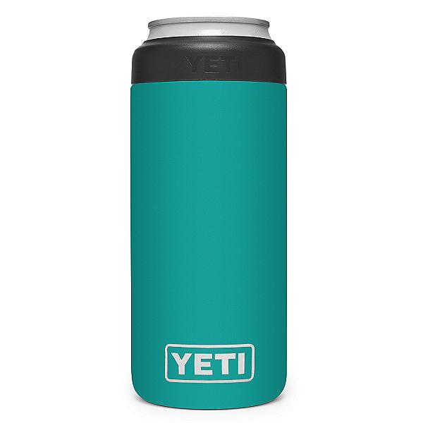 YETI Rambler 12 oz. Colster Slim Can Insulator- Limited Edition, Aquifer Blue, 600