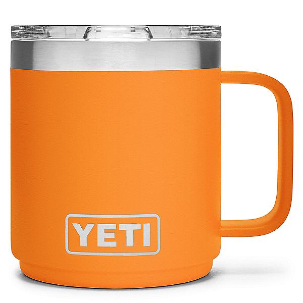 YETI Rambler 10 oz. Stackable Mug w/ MagSlider Lid, King Crab Orange, 600