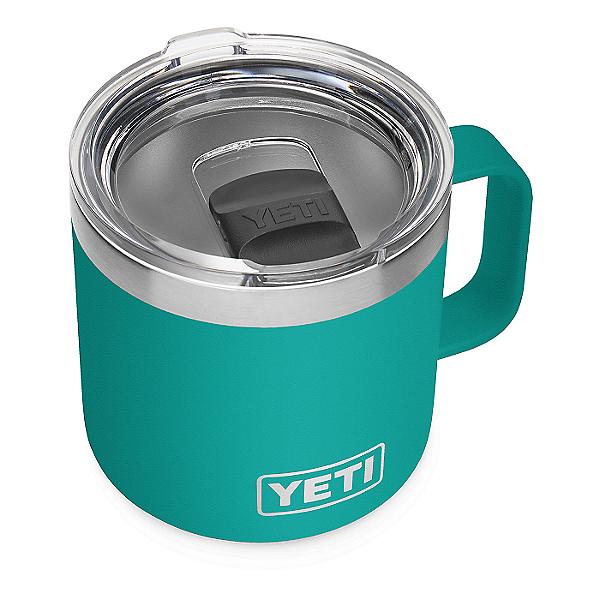 YETI Rambler 14 oz. Mug w/ MagSlider Lid, Aquifer Blue, 600