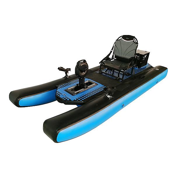 Riot Mako 9 Air Inflatable Pedal Drive Kayak 2020, , 600