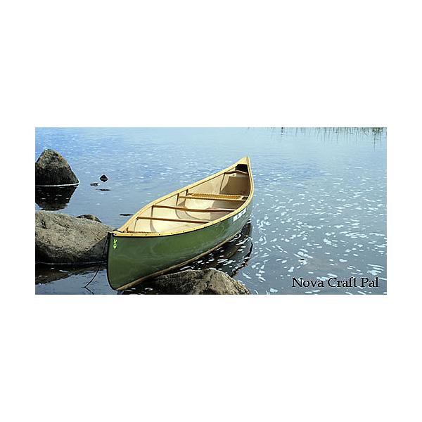 Nova Craft Canoe Pal 16 TuffStuff w/ Ash Gunwales, , 600