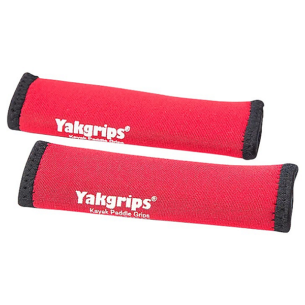 Cascade Creek Yakgrips Comfort Kayak Paddle Grips 2021 Red - 1-Piece Paddle (Velcro), Red, 600