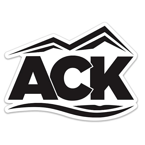 ACK Logo Die Cut Sticker, ACK, 600