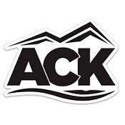 ACK Logo Die Cut Sticker, , medium