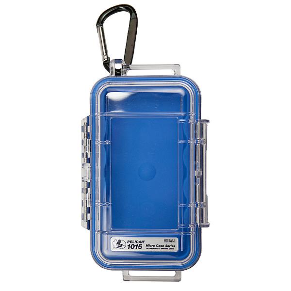 Pelican Micro Case 1015 Dry Box, Blue, 600