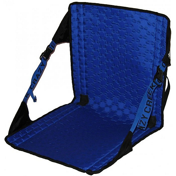 Crazy Creek Hex 2.0 Original Camp Chair, Blue/Black, 600