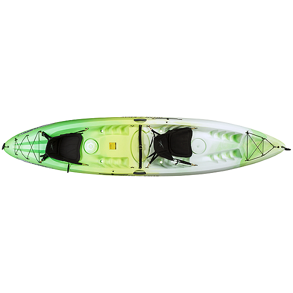 Ocean Kayak Malibu 2XL Tandem Kayak 2021 Envy Green, Envy Green, 600