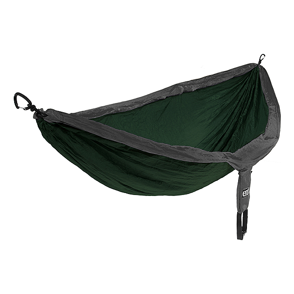 ENO Doublenest Hammock, Forest/Charcoal, 600