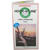 Hook-N-Line Map F106 Lake Livingston Fishing Map (With GPS), , medium