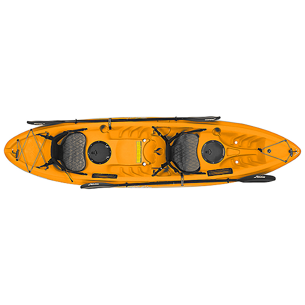 Hobie Kona Deluxe Kayak, Papaya Orange, 600